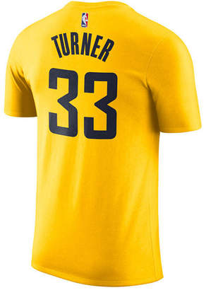 Nike Men Myles Turner Indiana Pacers Name & Number Player T-Shirt