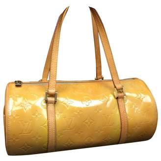 Louis Vuitton Vintage Bedford Yellow Patent leather Handbag