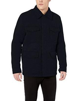 BOSS ORANGE Men's Orisso Heavy Wool Mix Knit Jacket