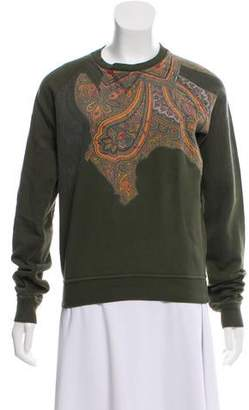 Jean Paul Gaultier Graphic Paisley Sweatshirt