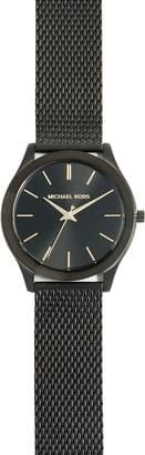 Michael Kors Slim Runway Black Mesh Watch, 42mm