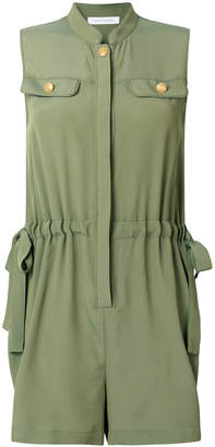 Pierre Balmain drawstring waist playsuit