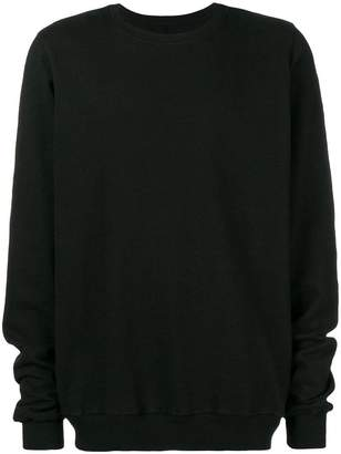 Rick Owens loose fit knitted sweater