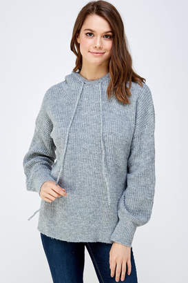 A Peach Soft Knitted Sweater