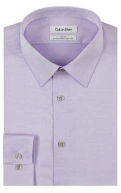 Calvin Klein Steel Slim-Fit Non-Iron Dress Shirt