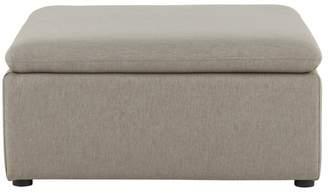 Victor Modular Sofa Storage Ottoman, Portland Grey