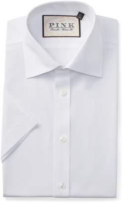 Thomas Pink Albert Poplin Classic Fit Dress Shirt