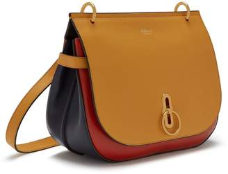 deb088928700 Mulberry Amberley Satchel Maize Yellow and Red Ochre Silky Calf