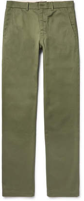 Freemans Sporting Club Winchester Slim-Fit Selvedge Cotton-Twill Chinos