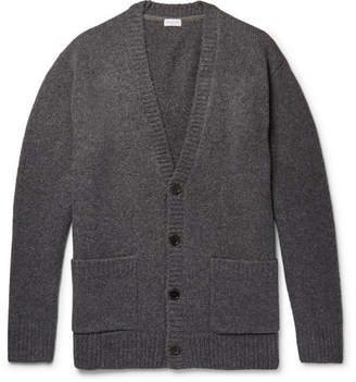 Dries Van Noten Oversized Wool-Blend Cardigan