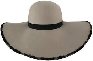 Chanel Ecru Wool Hats