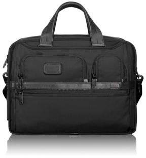 Tumi Alpha 2 Expandable Organizer Computer Brief Case