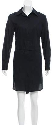 Milly Fractured High-Low Shirtdress w/ Tags