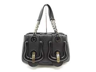 Fendi B Bag Black Leather Handbag