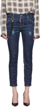 DSQUARED2 Blue Cadet Wash Cool Girl Jeans