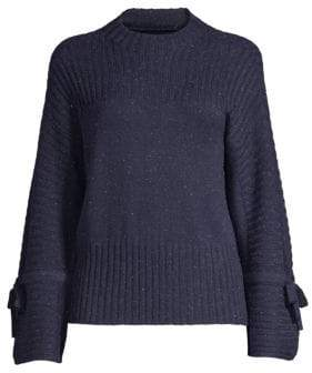 DH New York Ribbed Bell Sleeve Crewneck