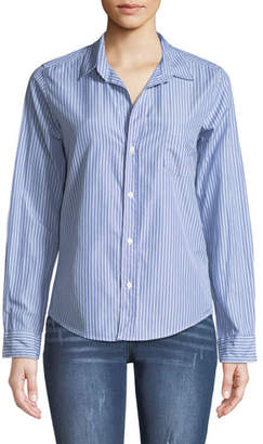 Frank And Eileen Barry Button-Front Long-Sleeve Striped Shirt
