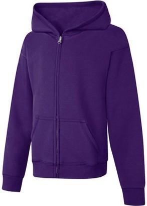 Hanes Girls' Fleece Zip Hood Jacket