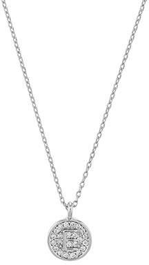 Letter e necklace pendant shopstyle uk at accessorize accessorize platinum initial e pendant necklace aloadofball Choice Image