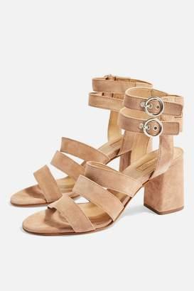 Topshop Nina Multi Strap Sandals