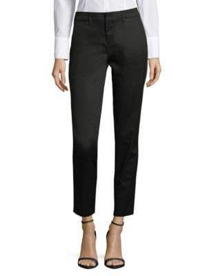 Vince Cropped Boyfriend Trousers