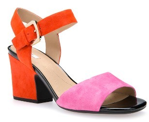 Orange Ankle Strap Heels - ShopStyle Australia