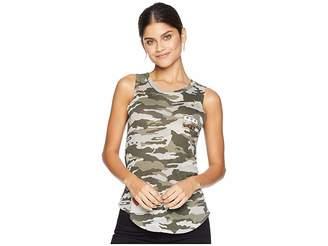Chaser Gauzy Cotton Jersey Basics Shirttail Muscle