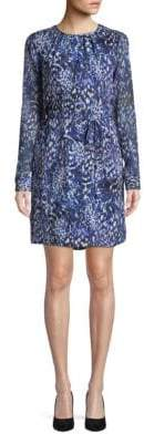 Elie Tahari Lilo Printed Silk Dress