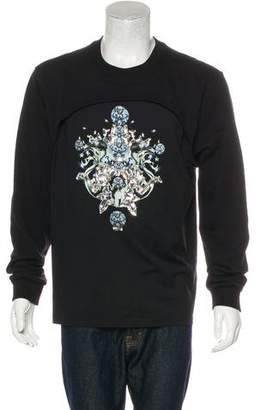 Givenchy 2014 Embellished Graphic Sweatshirt
