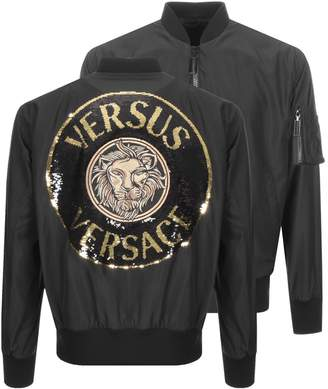 Versace Bomber Jacket Black