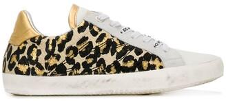 Zadig & Voltaire Zadig&Voltaire leopard print sneakers