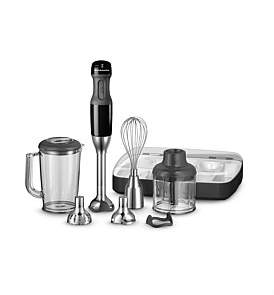 KitchenAid Khb2569 Artisan Deluxe Hand Blender Onyx Black