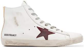 Golden Goose Francy Leather Hi-Top Sneakers