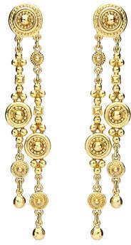 Ben-Amun Textured Double Dangle Earrings