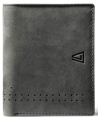 Leather Architect Men's 100% Leather RFID Blocking Bifold with Back Zip and 4 Credit Card Slots