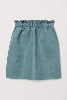 H&M Paper Bag Skirt - Turquoise