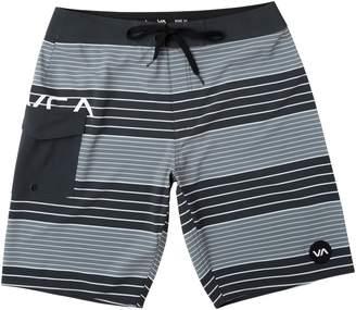 77378e8467 RVCA Uncivil Stripe Swim Trunks