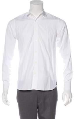 Saint Laurent Woven Dress Shirt