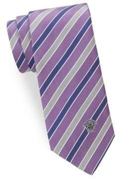Versace Silk Stripe Tie