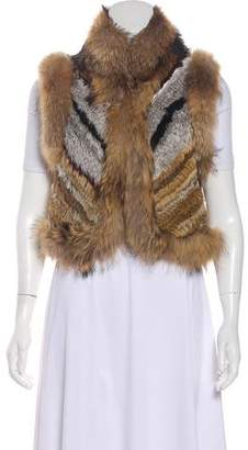 Ministry of Style Fusion Fur Vest