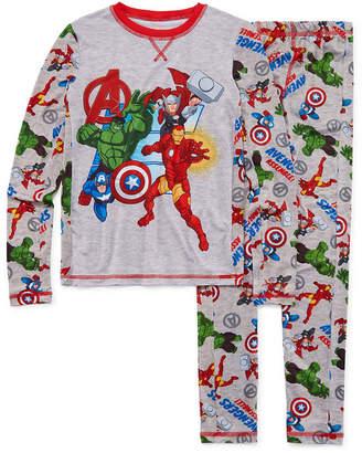 AVENGERS Avengers Round Neck Long Sleeve Thermal Set Boys