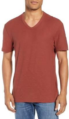James Perse Regular Fit V-Neck Shirt