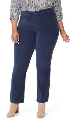 NYDJ Marilyn Straight Leg Stretch Velvet Pants