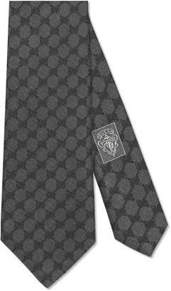 GG pattern silk tie $200 thestylecure.com