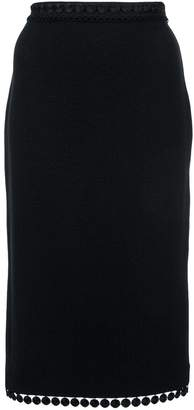 Moschino slim-fit pencil skirt