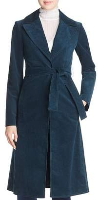 Theory Corduroy Trench Coat