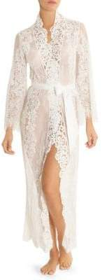 Jonquil Lace Duster Robe