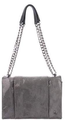 b1055fba57 Halston Suede Chain Shoulder Bag