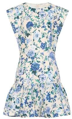 Zimmermann Moncur floral linen minidress