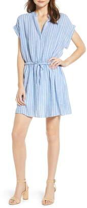 Rails Emma Stripe Linen Blend Minidress